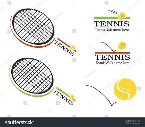 tennis vector tennis logos tennis racket stock vector  shutterstock