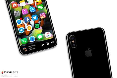 the new iphone new iphone 8 concept focuses on the function area