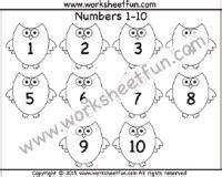 numbers    worksheet  images