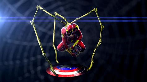 Iron Spider Background by Iron Spider Hd Wallpaper 77 Images