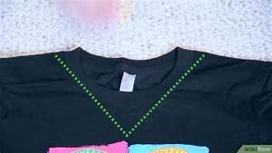Como Fazer Gola V em uma Camiseta: 11 Passos
