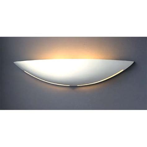 paintable half moon wall sconce bellacor