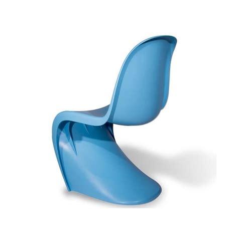 chaise panton pas cher chaise panton bleu achat vente chaise salle a manger