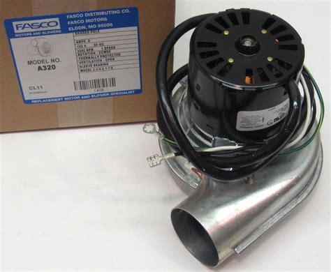 a320 fasco furnace inducer motor fits lennox 7021 9466 7021 9646 10115401 ebay