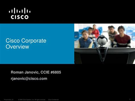 cisco corporate overview powerpoint