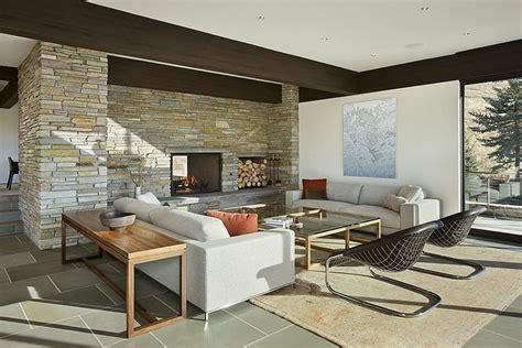 cuisine contemporaine avec ilot maison bois et contemporaine par marmol radziner
