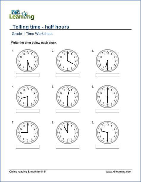 grade  telling time worksheet arteasia rhodes st