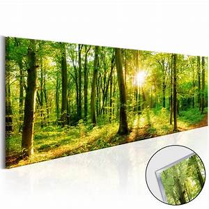 Bilder Natur Leinwand : acrylglasbild wandbild kunstdruck glasbilder bilder wald natur c b 0184 k a ebay ~ Markanthonyermac.com Haus und Dekorationen