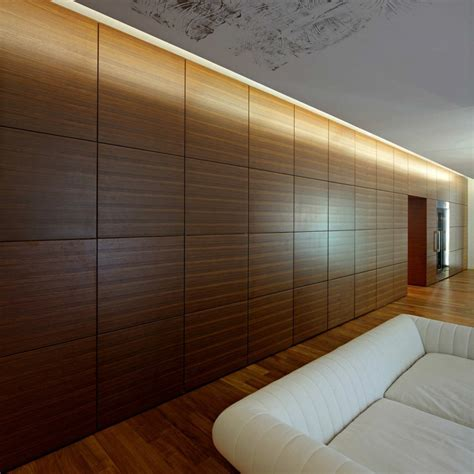 wooden interior walls downtown apartment in zagreb dva arhitekta d o o apartments cubicle walls and lobbies