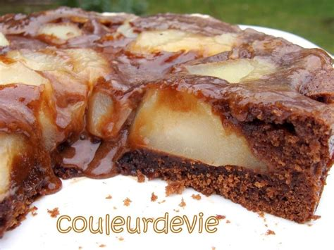 dessert poire chocolat rapide