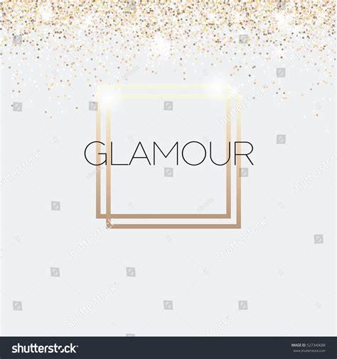 glamour invitation card fashion show vip stock vector