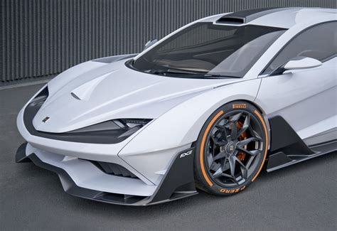 aria group gte preview  american hybrid supercar
