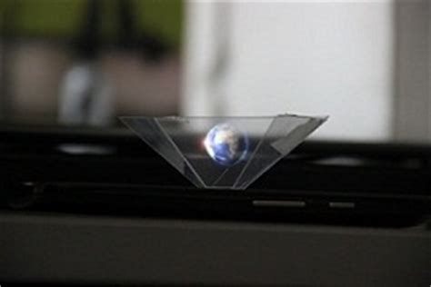 diy  hologram pyramid   smartphone diy hacking
