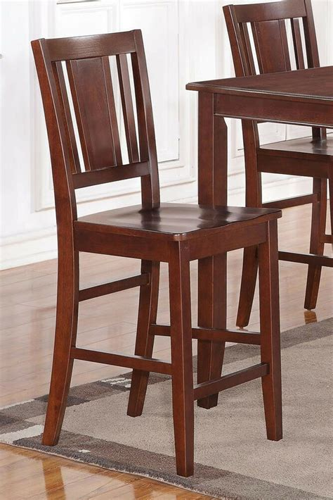 set   buckland kitchen counter height chairs  plain