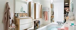 Ambiance Salle De Bain : salle de bain blanche et bois ambiance scandinave mobalpa ~ Melissatoandfro.com Idées de Décoration