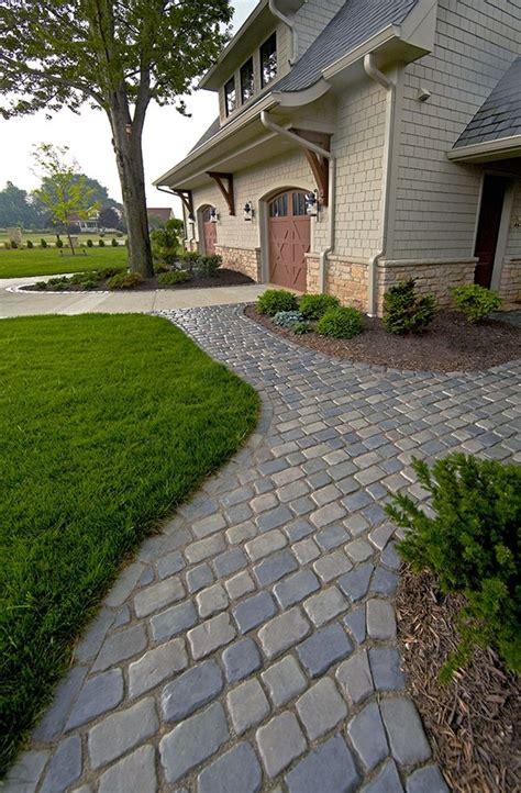 Unilock Driveway - 48 best unilock beautiful driveways and front entrances