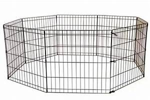 24 tall dog playpen crate fence pet kennel play pen for Dog crate fence