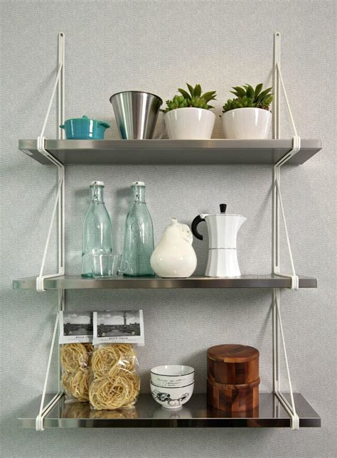 kitchen shelves wall mounted  decor