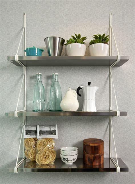 kitchen shelves wall mounted  decor