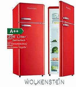 Retro Kühlschrank A : retro khl gefrier kombination rot glanz gk2124rt a 206 liter nostalgie design khlschrank 0 ~ Orissabook.com Haus und Dekorationen