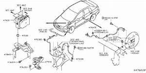 Nissan Versa Abs Wheel Speed Sensor Retainer  Wash