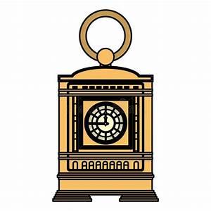 Mantel Clock Stock Illustrations  U2013 79 Mantel Clock Stock