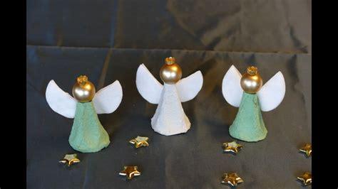 engel angel basteln aus eierschachteln super einfach basteln mit kindern youtube