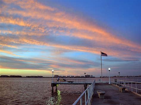 Williams Pier During Sunrise In Gulfport Florida ...