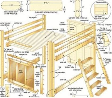 woodwork custom bunk bed designs plans  plans