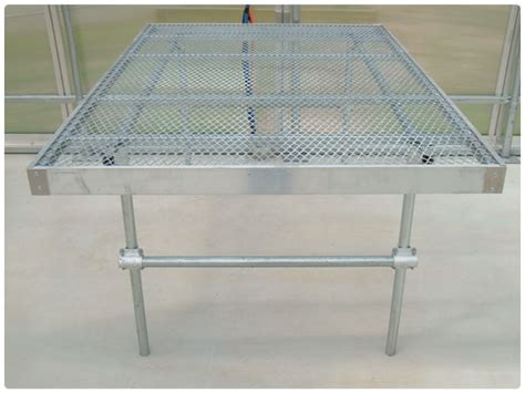Bench Styles by Greenhouse Benches Any Custom Style Rimol Greenhouses