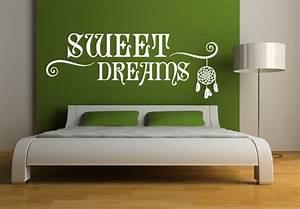 Wandtattoo Sweet Dreams : wandtattoo sweet dreams traumf nger ~ Whattoseeinmadrid.com Haus und Dekorationen