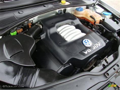2002 Vw Passat W8 Engine Diagram by 2001 Volkswagen Passat Glx Sedan 2 8 Liter Dohc 30 Valve
