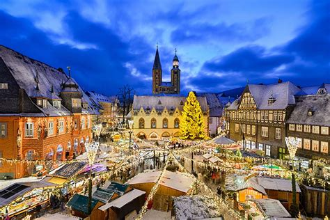 weihnachtsmarkt und weihnachtswald  der kaiserstadt goslar