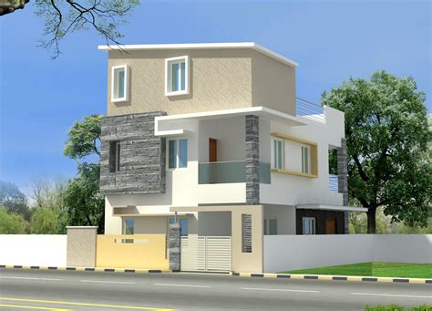 house wall elevation design modern house