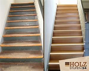 Alte Holztreppe Sanieren : alte holztreppe sanieren bzw renovieren holzstufen24 ~ Frokenaadalensverden.com Haus und Dekorationen