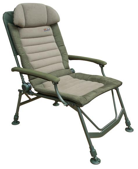 chaise de peche fox fx deluxe recliner chapmans angling