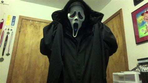 scream replica robe costume youtube