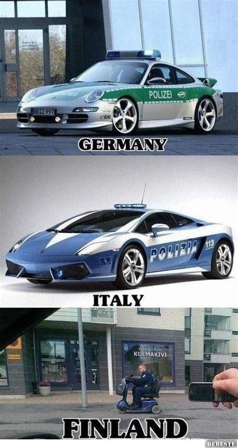 finnisches polizeiauto lustige bilder sprueche witze