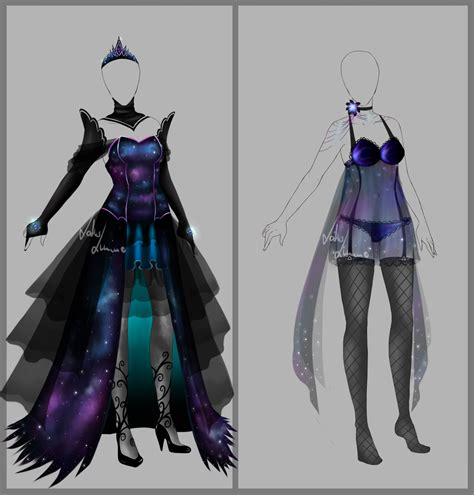Outfit design - 105 - closed by LotusLumino on DeviantArt