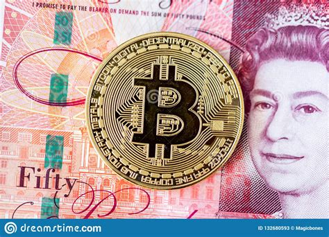 So, you've converted 1 pound sterling to 0.000025 bitcoin. Bitcoin And 50 Pound Banknotes Editorial Stock Photo - Image of internet, crypto: 132680593