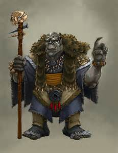 Orc Shaman Concept Art