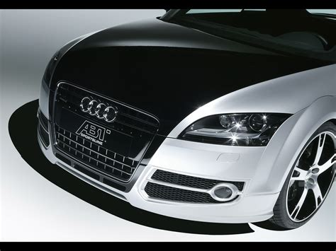 2007 Abt Sportsline Audi Tt R Front Section Studio
