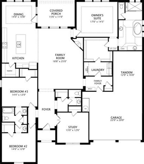 floor plan friday drees custom homes mustang lakes the