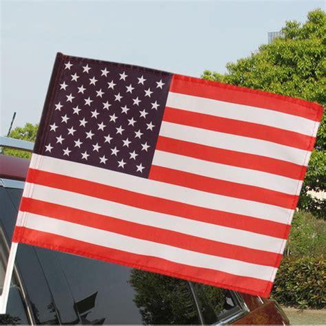 american garden flag 30x45cm american flag stripe polyester welcome flag