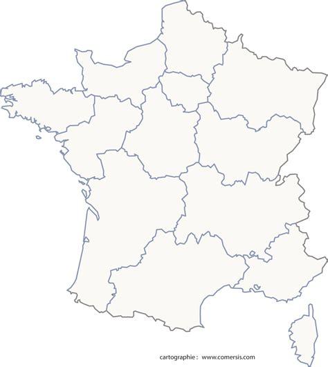 Téléchargez ici les fonds de cartes des nouvelles régions de france. Carte De France Vierge Region | My blog