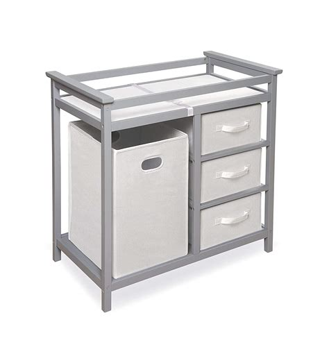 badger basket changing table top 10 best changing tables with drawers heavy com