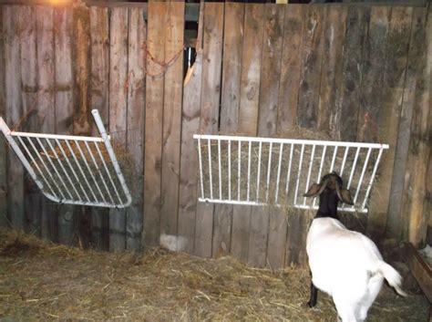 goat hay feeder cornerstone acres farm recycle reuse reduce