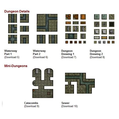 Dungeons And Dragons Tile Sets Pdf by Looking For Dungeon Tiles But Not Sure Where To Get Them