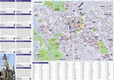 Stadtplan Leipzig, Stuttgart