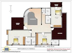 make floor plans luxury indian home design with house plan 4200 sq ft